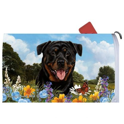 Rottweiler Mail Box Cover