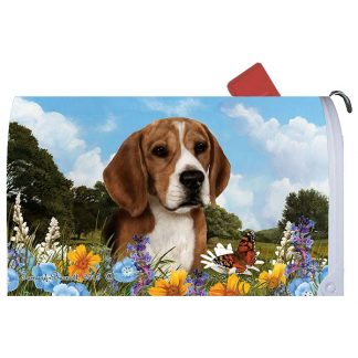 Beagle Mail Box Cover
