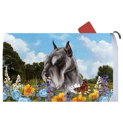 Schnauzer Mail Box Cover