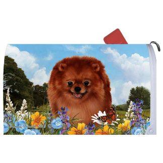 Pomeranian Mail Box Cover