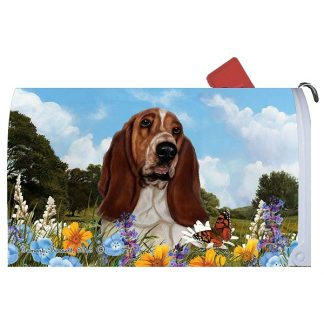 Basset Hound Mail Box Cover