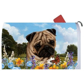 Pug Mail Box Cover
