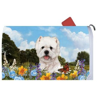 West Highland Terrier Mail Box Cover
