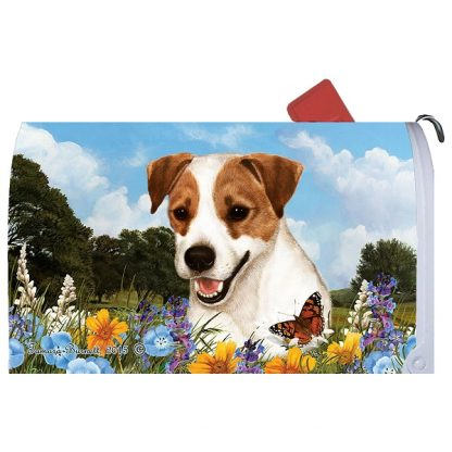Jack Russell Terrier Mail Box Cover