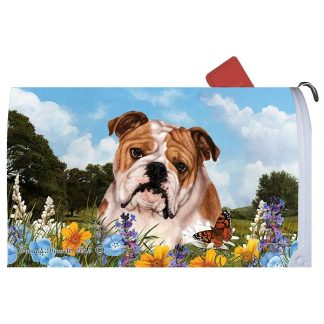 Bulldog Mail Box Cover
