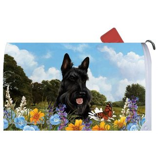 Scottish Terrier Mail Box Cover
