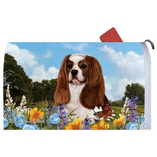 Cavalier Spaniel Mail Box Cover