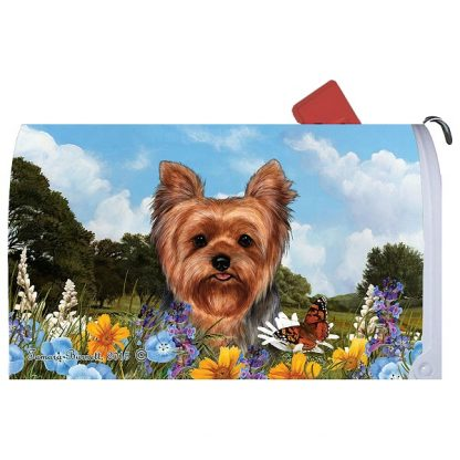 Yorkshire Terrier Mail Box Cover
