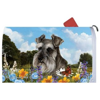 Schnauzer Mail Box Cover (Uncropped)