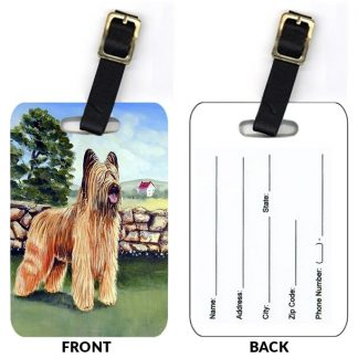 Briard Luggage Tags (Set of 2)