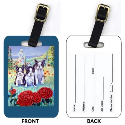 Boston Terrier Luggage Tags (Set of 2)