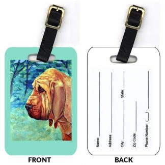 Bloodhound Luggage Tags (Set of 2)