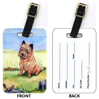 Cairn Terrier Luggage Tags II (Set of 2)