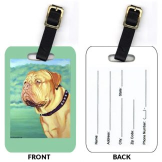 Dogue de Bordeaux Luggage Tags (Set of 2)
