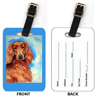 Irish Setter Luggage Tags (Set of 2)