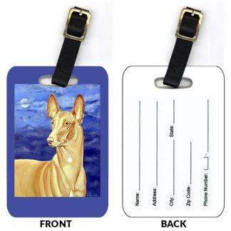 Pharaoh Hound Luggage Tags (Set of 2)