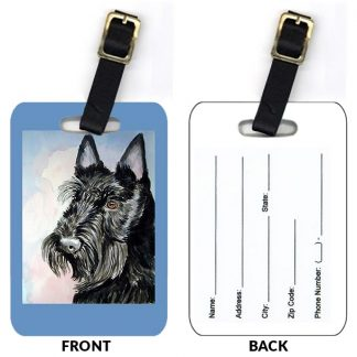 Scottish Terrier Luggage Tags (Set of 2)