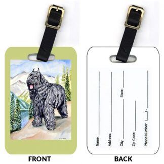 Bouvier Luggage Tags (Set of 2)