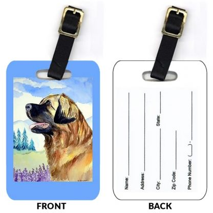 Leonberger Luggage Tags (Set of 2)