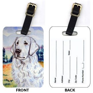 Kuvasz Luggage Tags (Set of 2)