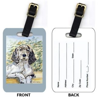 English Setter Luggage Tags (Set of 2)