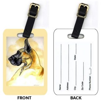 Great Dane Luggage Tags (Set of 2)
