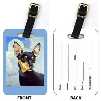 Miniature Pinscher Luggage Tags (Set of 2)