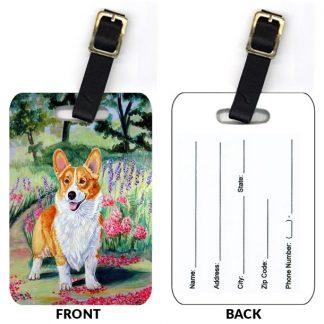 Corgi Luggage Tags (Set of 2)
