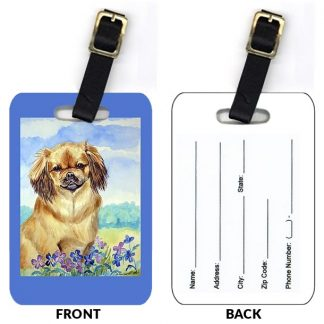 Tibetan Spaniel Luggage Tags II (Set of 2)