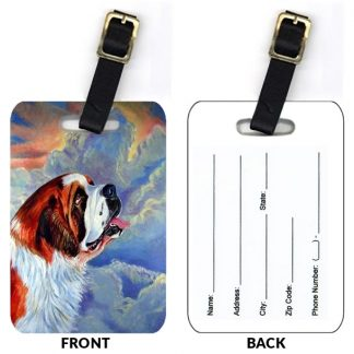 Saint Bernard Luggage Tags (Set of 2)