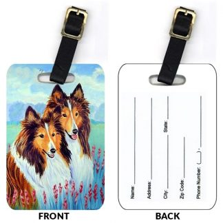 Shetland Sheepdog Luggage Tags (Set of 2)