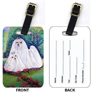 Maltese Luggage Tags (Set of 2)