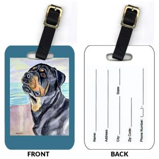 Rottweiler Luggage Tags (Set of 2)