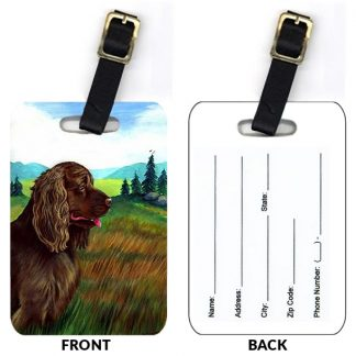Sussex Spaniel Luggage Tags (Set of 2)
