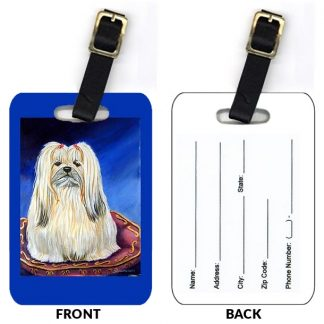 Lhasa Apso Luggage Tags (Set of 2)
