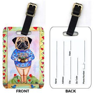 Pug Luggage Tags II (Set of 2)