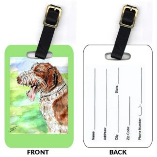 Spinone Italiano Luggage Tags (Set of 2)