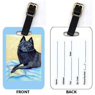 Schipperke Luggage Tags (Set of 2)
