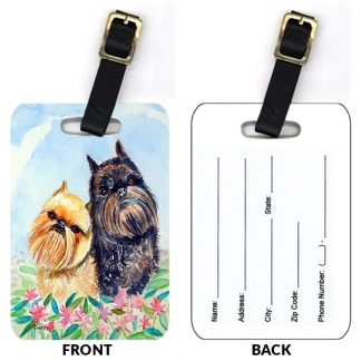 Brussels Griffon Luggage Tags (Set of 2)