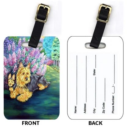 Australian Terrier Luggage Tags (Set of 2)