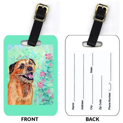Border Terrier Luggage Tags (Set of 2)