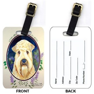 Soft Coated Wheaten Luggage Tags (Set of 2)