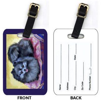 Pomeranian Luggage Tags (Set of 2)