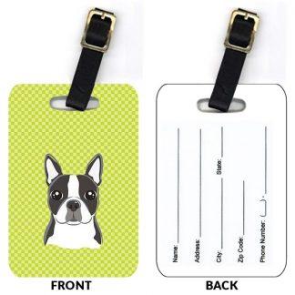 Boston Terrier Luggage Tags III (Set of 2)