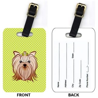 Yorkshire Terrier Luggage Tags (Set of 2)