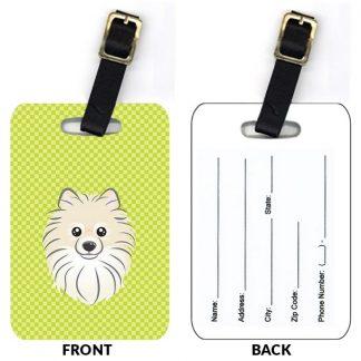 Pomeranian Luggage Tags II (Set of 2)