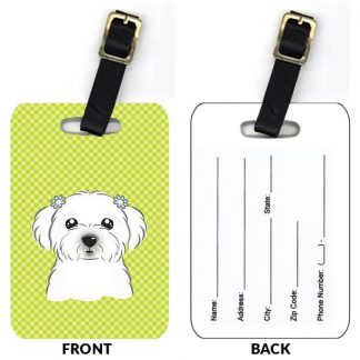 Maltese Luggage Tags II (Set of 2)