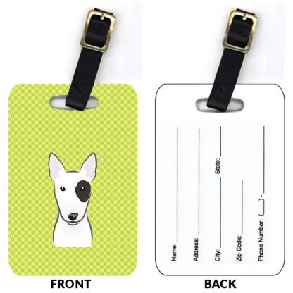 Bull Terrier Luggage Tags (Set of 2)