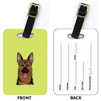 German Shepherd Luggage Tags (Set of 2)