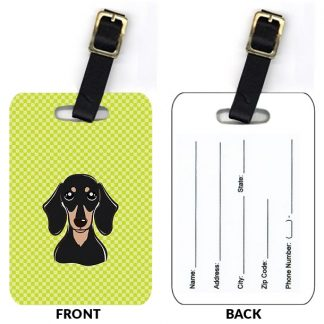 Dachshund Luggage Tags (Set of 2)